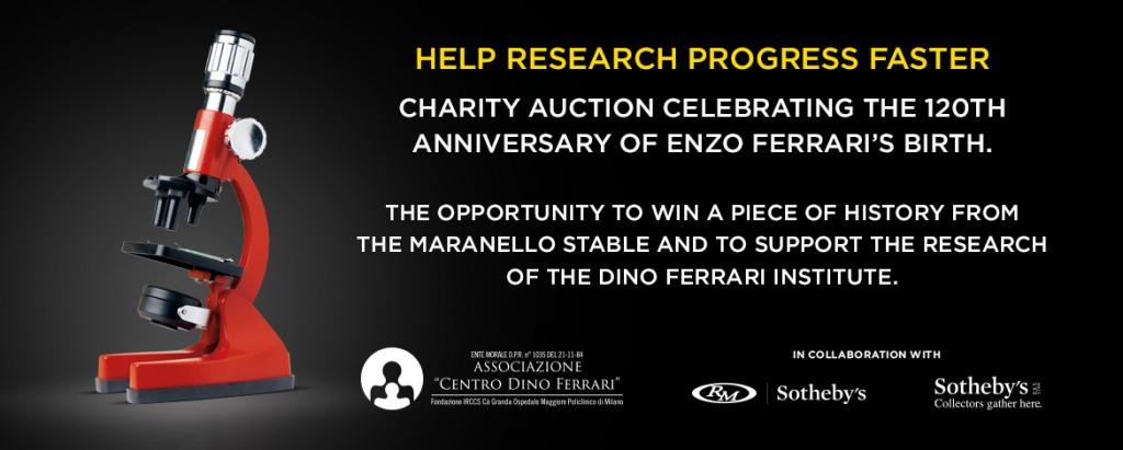 FERRARI Charity Auction OCTOBER 6TH, 2018